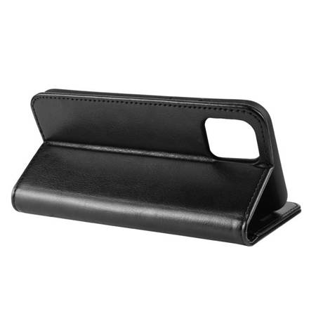 Crong Booklet Wallet - PU Leather Case for iPhone 11 Pro (Black)