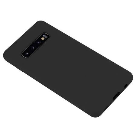 Crong Color Cover - Flexible Case for Samsung Galaxy S10+ (Black)