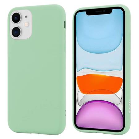 Crong Color Cover - Flexible Case for iPhone 11 (Green)