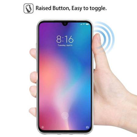Crong Crystal Slim Cover - Protective Case for Xiaomi Mi 9 (clear)