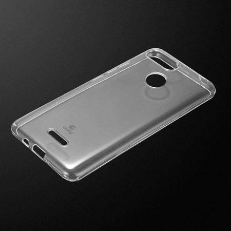Crong Crystal Slim Cover - Protective Case for Xiaomi Redmi 6 (clear)