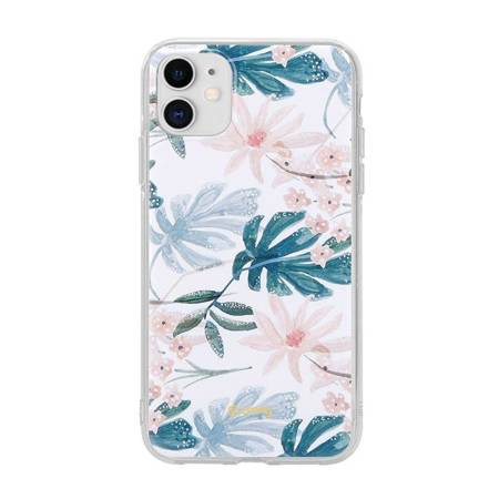 Crong Flower Case – Case for iPhone 11 (pattern 01)