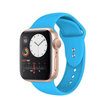 Crong Liquid Band for Apple Watch 38/40 mm (Blue)