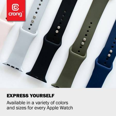 Crong Liquid Band for Apple Watch 38/40 mm (Pink Sand)