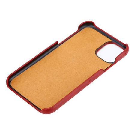 Crong Neat Cover - PU Leather Case for iPhone 11 Pro (red)