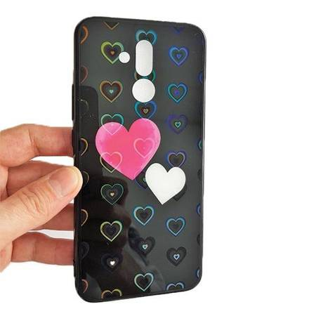 Etui Hearts Samsung G965 S9 Plus wzór 5 (hearts black)