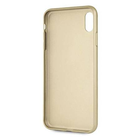Guess GUHCI65G4GG iPhone Xs Max szary/grey hard case 4G Collection