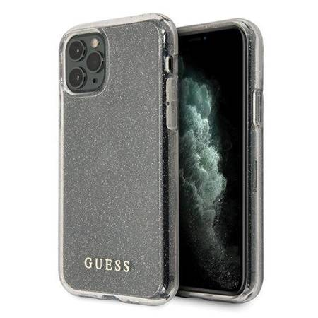 Guess Glitter Case iPhone 11 Pro Max (Silver)