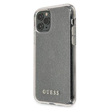 Guess Glitter Case iPhone 11 Pro (Silver)