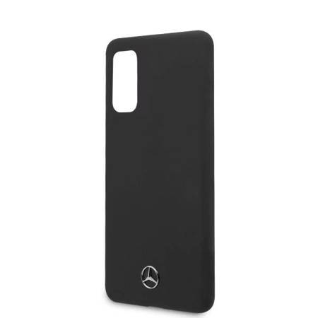 Mercedes MEHCS62SILSB S20 G980 hard case czarny/black Silicone Line