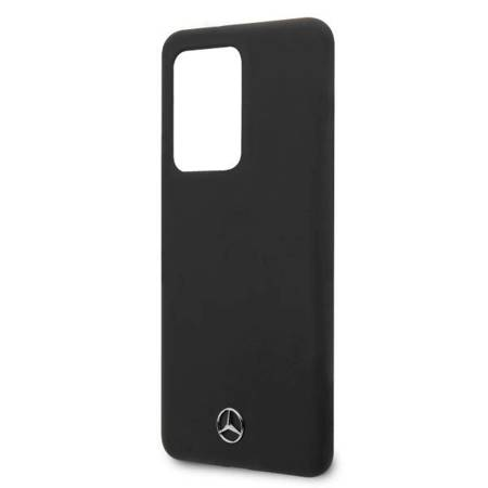 Mercedes MEHCS69SILSB S20 Ultra G988 hard case czarny/black Silicone Line