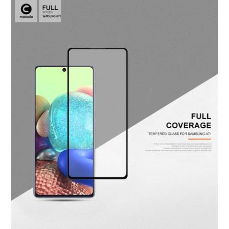 Mocolo 3D 9H Full Glue - Full screen protector for Samsung Galaxy A71 / Note 10 Lite (Black)