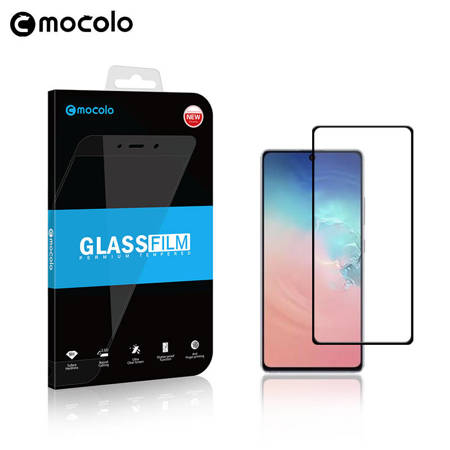Mocolo 3D 9H Full Glue - Full screen protector for Samsung Galaxy S10 Lite (Black)