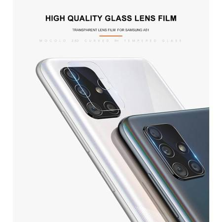 Mocolo Camera Lens - Protective glass for Samsung Galaxy A71