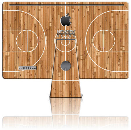 Nexgen Skins with 3D effect for iMac 27 (Hardwood Classic 3D)