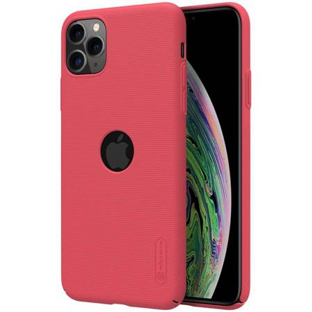 Nillkin Super Frosted Shield - Case Apple iPhone 11 Pro with logo cutout (Bright Red)