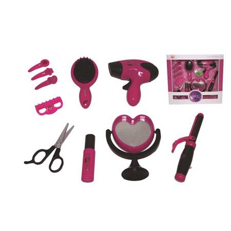 PLAYME - Beauty set with a dryer and curling iron