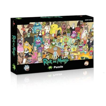 Rick and Morty - Puzzle 1000 pcs.