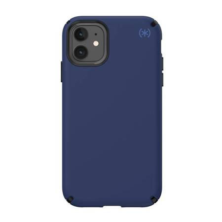 Speck Presidio2 Pro - Case iPhone 11 with MICROBAN (Coastal Blue/Black/Storm Grey)