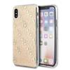 Guess GUHCI65PCU4GLGO iPhone Xs Max złoty/gold hard case 4G Glitter