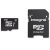 Integral UltimaPro - Memory Card 8GB microSDHC/XC 90MB/s Class 10 UHS-I U1 + Adapter