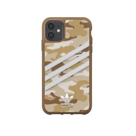 Adidas OR Moulded Case CAMO WOMAN iPhone 11 brązowy/brown