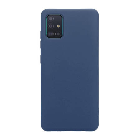 Crong Color Cover - Etui Samsung Galaxy A51 (niebieski)