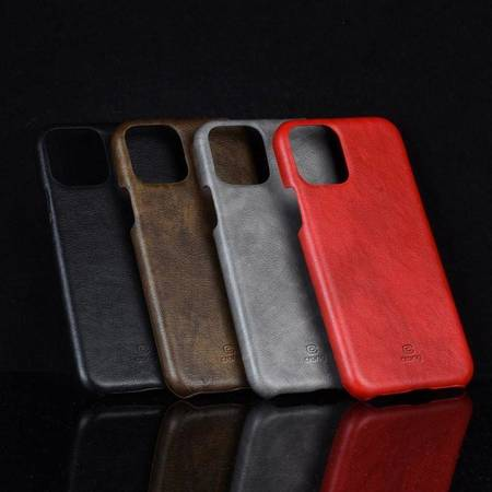 Crong Essential Cover - Etui iPhone 11 Pro Max (czerwony)