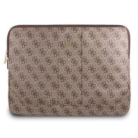 Guess 4G Uptown Computer Sleeve - Etui na notebooka 13 (brązowy)