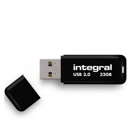 Integral Noir USB 3.0 Flash Drive - Pendrive USB 3.0 32GB (Black)