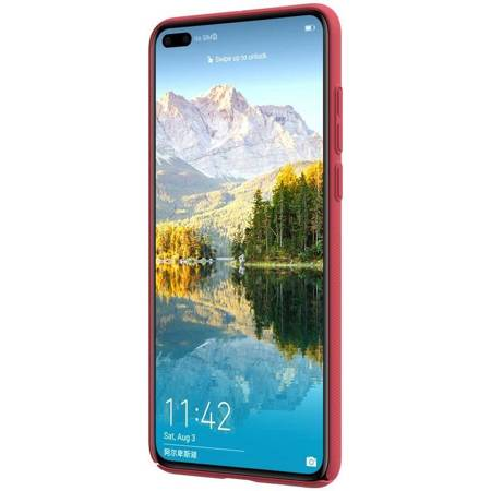Nillkin Super Frosted Shield - Etui Huawei P40 (Bright Red)