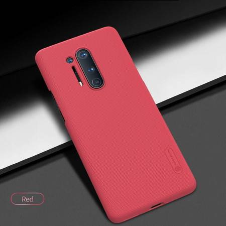 Nillkin Super Frosted Shield - Etui OnePlus 8 Pro (Bright Red)