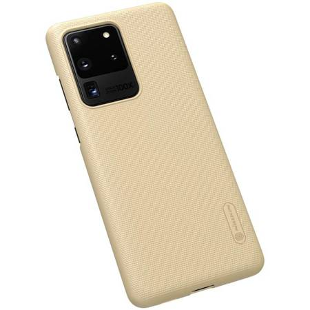 Nillkin Super Frosted Shield - Etui Samsung Galaxy S20 Ultra (Golden)