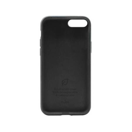 PURO Green Compostable Eco-friendly Cover - Ekologiczne etui iPhone SE 2020 / 8 / 7 / 6s (czarny)