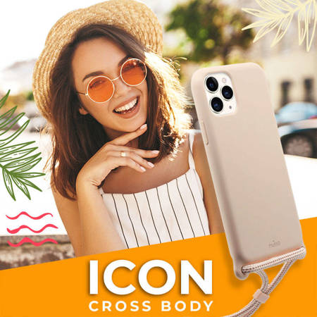 PURO ICON Cross Body - Etui iPhone 11 Pro (czarny)