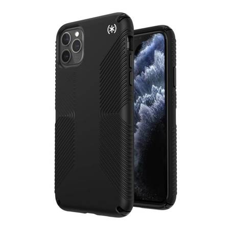 Speck Presidio2 Grip - Etui iPhone 11 Pro Max z powłoką MICROBAN (Black)