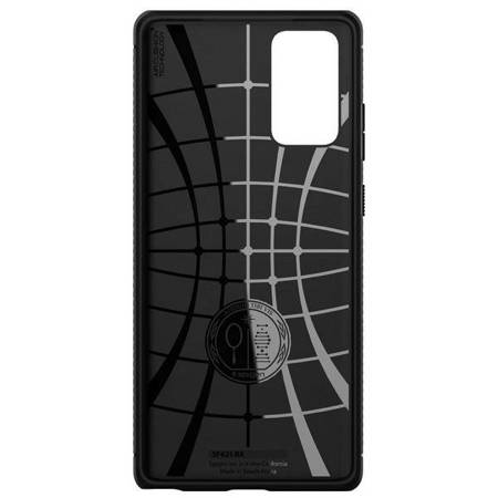 Spigen Rugged Armor Samsung Note 20 N980 czarny/black matte ACS01417