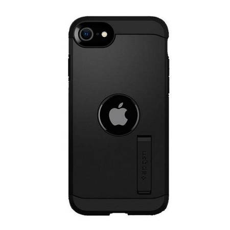 Spigen Tough Armor iPhone SE 2020 czarny/black ACS00950